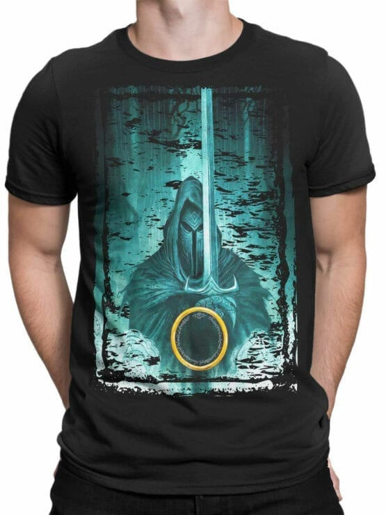 1489 The Lord of the Rings T Shirt Night Front Man