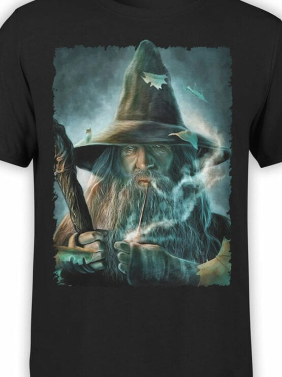 1491 The Lord of the Rings T Shirt Gandalf Front Color