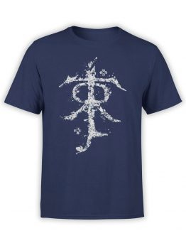1493 The Lord of the Rings T Shirt Rune Front