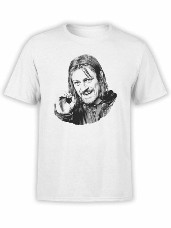1495 The Lord of the Rings T Shirt You Cannot Simply Front
