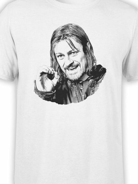 1495 The Lord of the Rings T Shirt You Cannot Simply Front Color