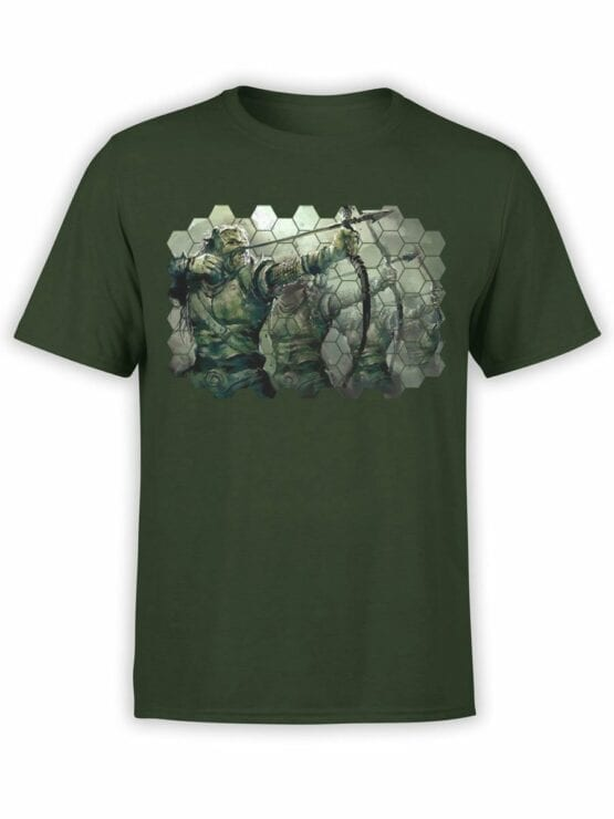 1496 The Lord of the Rings T Shirt Orcs Front