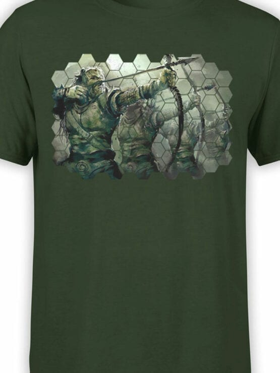 1496 The Lord of the Rings T Shirt Orcs Front Color