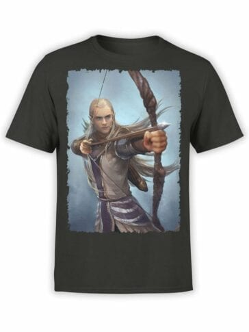 1500 The Lord of the Rings T Shirt Legolas Front