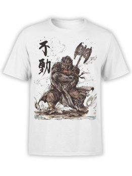 1503 The Lord of the Rings T Shirt Gimli Front