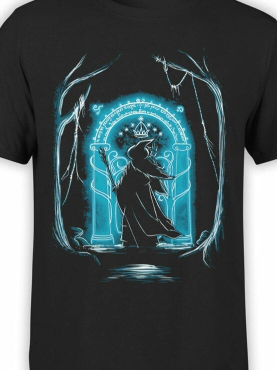 1507 The Lord of the Rings T Shirt Ithildin Front Color