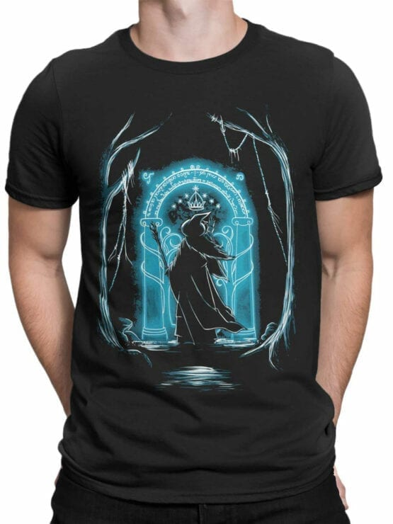 1507 The Lord of the Rings T Shirt Ithildin Front Man