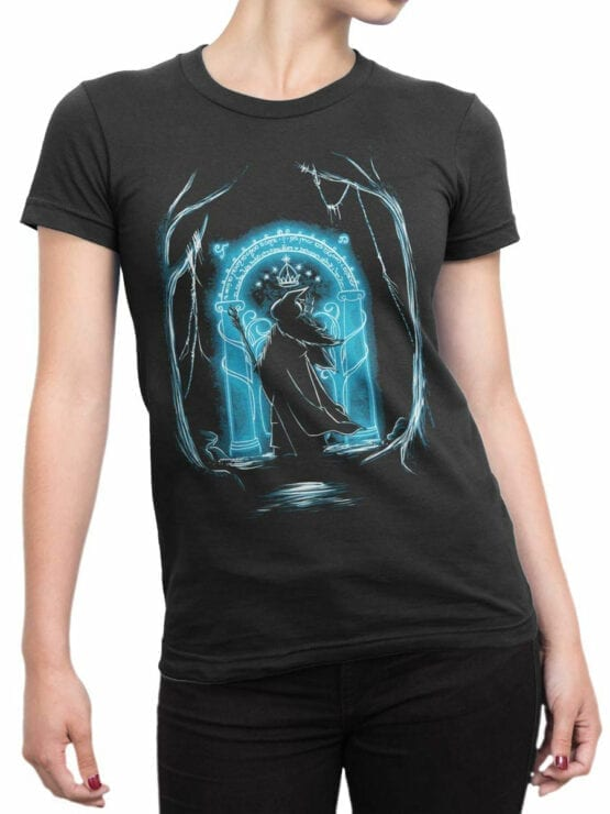 1507 The Lord of the Rings T Shirt Ithildin Front Woman