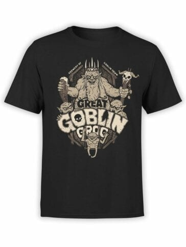 1508 The Lord of the Rings T Shirt Goblin Front