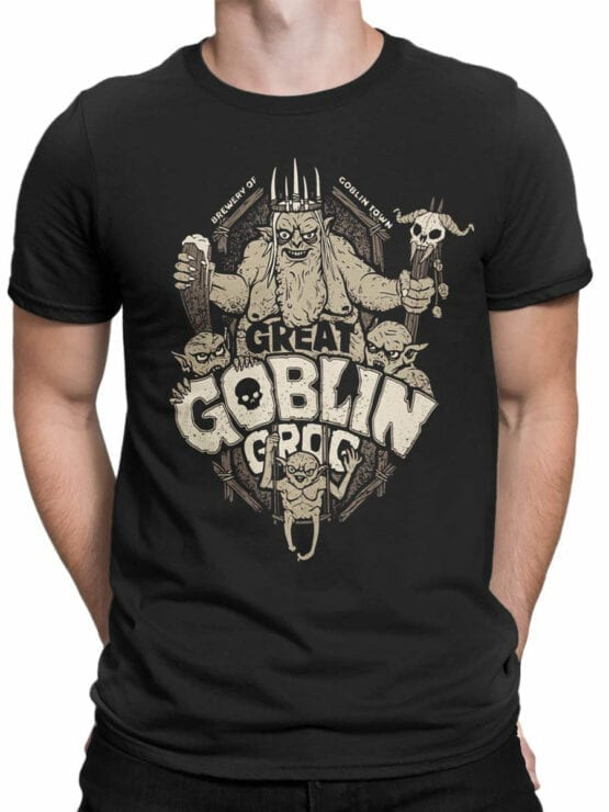 1508 The Lord of the Rings T Shirt Goblin Front Man