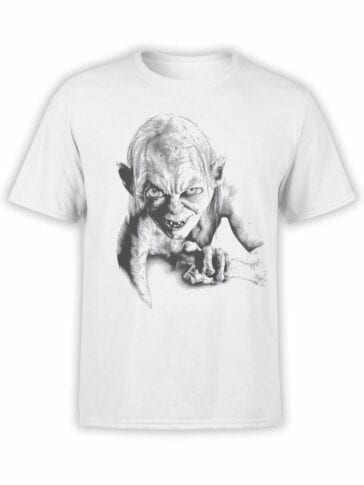 1509 The Lord of the Rings T Shirt Gollum Front