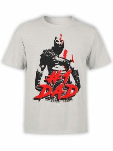 1516 God of War T Shirt 1 Dad Front
