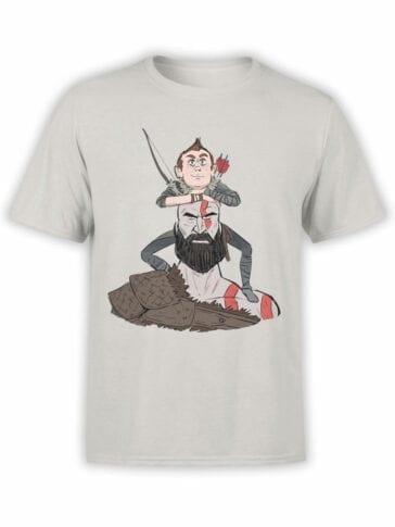 1518 God of War T Shirt Cute Front