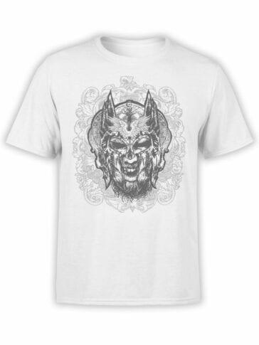 1521 God of War T Shirt Helmet Front