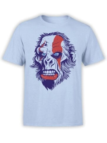 1530 God of War T Shirt Gorillatos Front