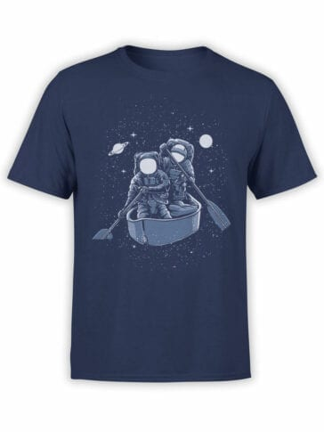 1544 NASA T Shirt Space Board Front