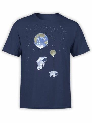 1545 NASA T Shirt Baloon Front