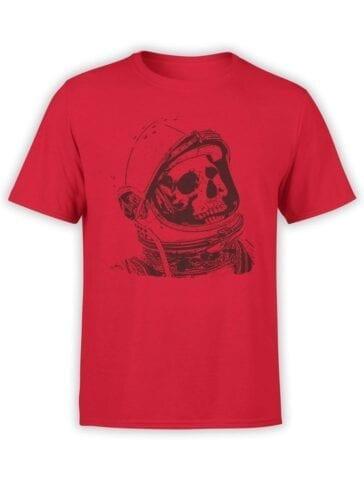 1556 NASA T Shirt Dead Astronaut Front