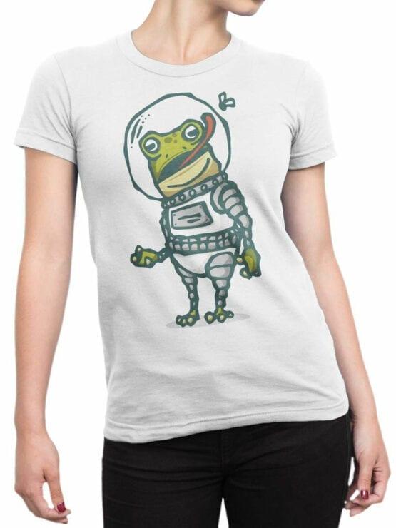 1560 NASA T Shirt Astro Fog Front Woman