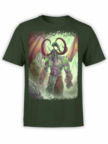 1570 World of Warcraft T Shirt Illidan Stormrage Front