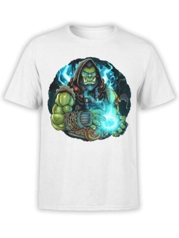 1575 World of Warcraft T Shirt Thrall Front
