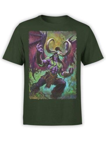 1578 World of Warcraft T Shirt Illidan Stormrage Front