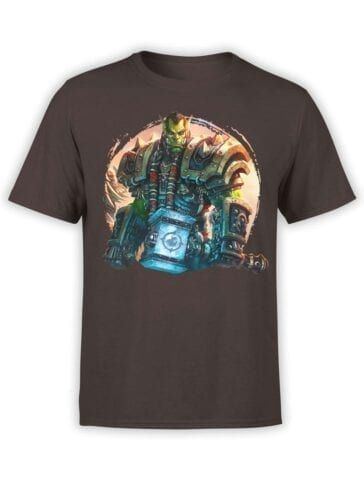 1579 World of Warcraft T Shirt Lore of Thrall Front