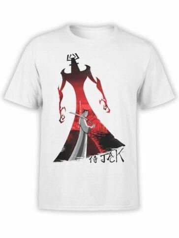 1586 Samurai Jack T Shirt Revenge Front