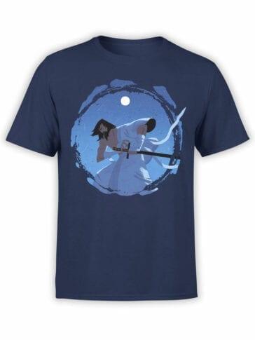 1597 Samurai Jack T Shirt Shine Front