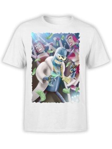 1616 Futurama T Shirt Disco Front