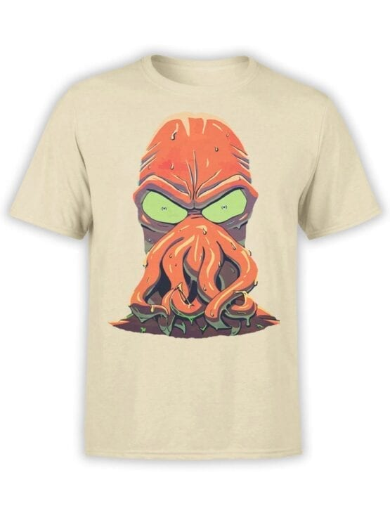 1637 Futurama T Shirt Zoidberg Rage Front