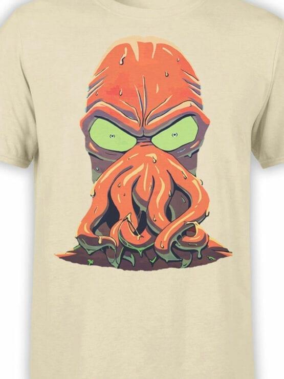 1637 Futurama T Shirt Zoidberg Rage Front Color
