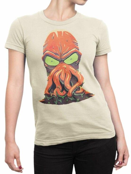 1637 Futurama T Shirt Zoidberg Rage Front Woman