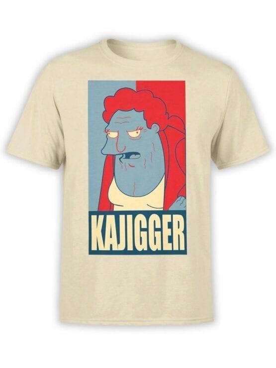 1639 Futurama T Shirt Kajigger Front