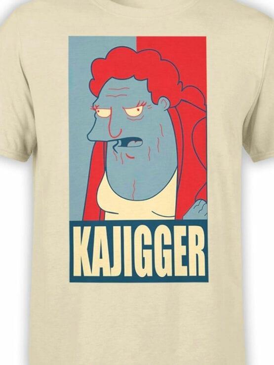 1639 Futurama T Shirt Kajigger Front Color