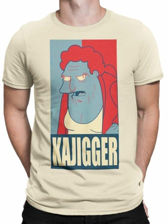 1639 Futurama T Shirt Kajigger Front Man