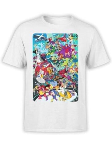 1642 Futurama T Shirt X Futurama Front