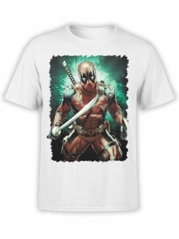 1669 Sword T Shirt Deadpool T Shirt Front