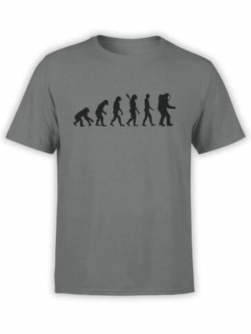 1678 Evolution T Shirt NASA T Shirt Front
