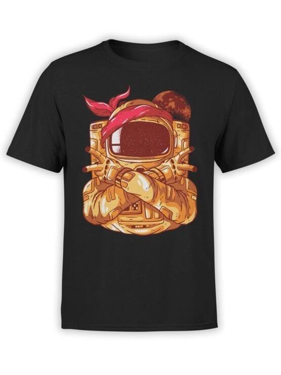 1686 Astro Gang T Shirt NASA T Shirt Up Front