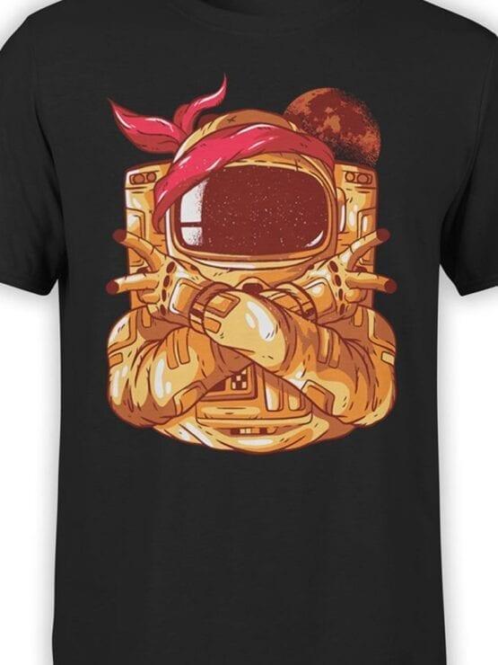 1686 Astro Gang T Shirt NASA T Shirt Up Front Color