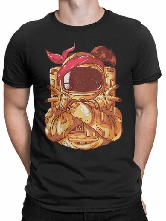 1686 Astro Gang T Shirt NASA T Shirt Up Front Man