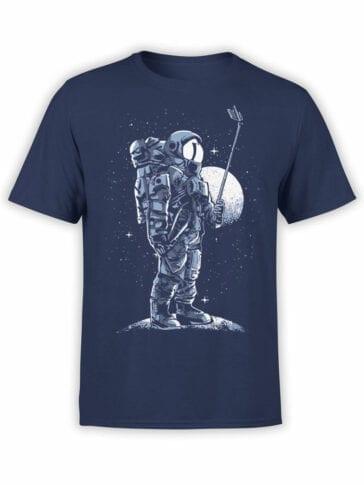 1697 Astro SelfieT Shirt NASA T Shirt Front