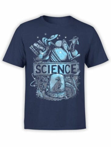 1702 Science T Shirt Front