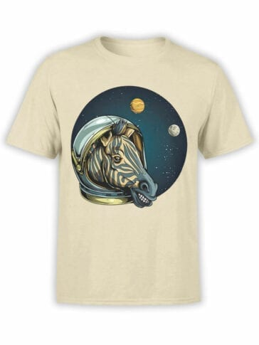 1703 Astro Zebra T Shirt Front