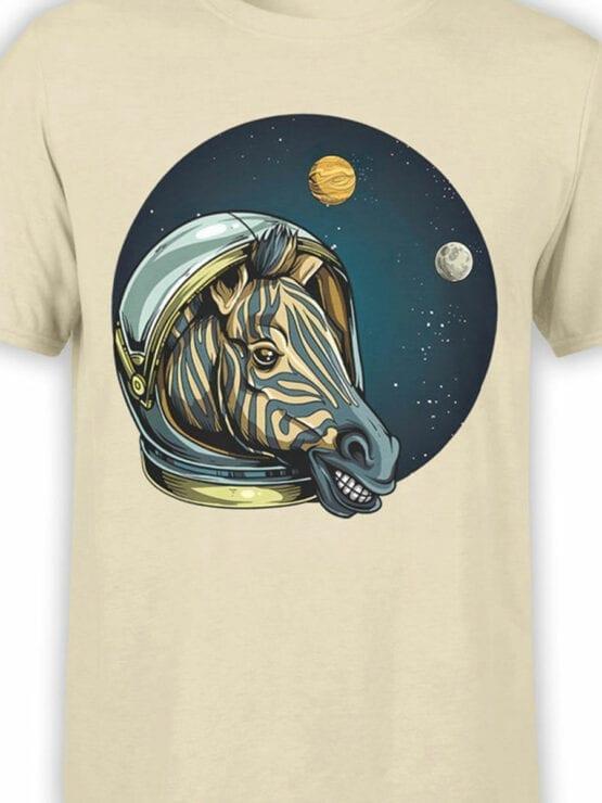 1703 Astro Zebra T Shirt Front Color