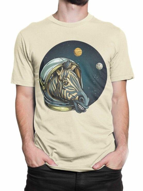 1703 Astro Zebra T Shirt Front Man 2