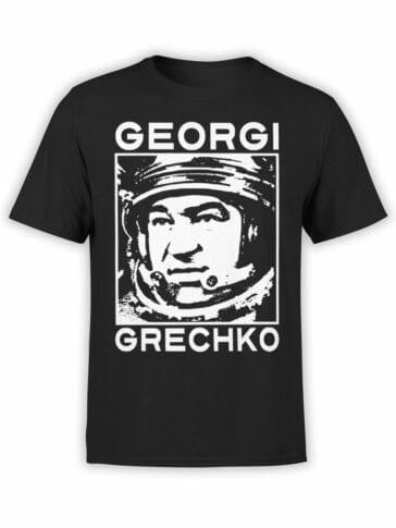 1705 Georgi Grechko T Shirt Front