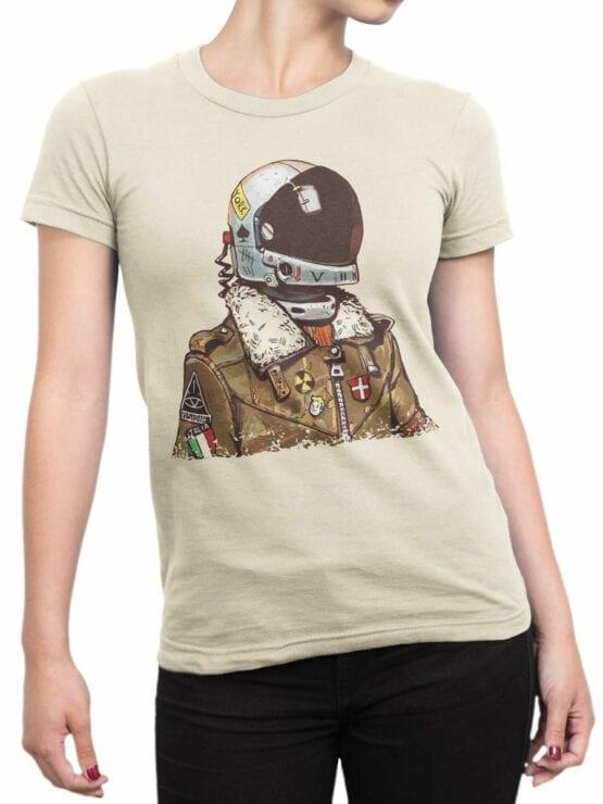 1706 Astro Tourist T Shirt Front Woman