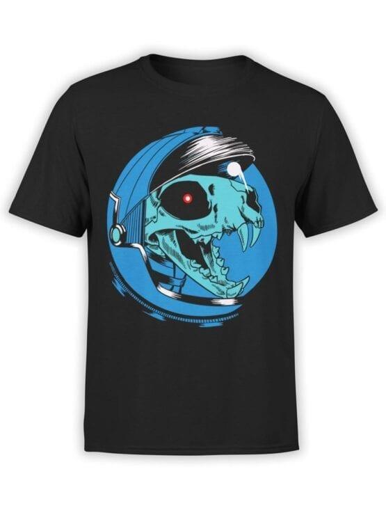 1707 Dino Astronaut T Shirt Front